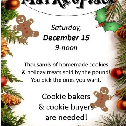 Christmas Cookie Marketplace 2018 INSERT SINGLE Page